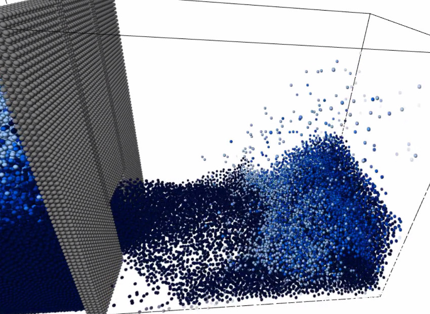 Smoothed Particle Hydrodynamics Fluid Simulation | Ryan